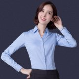 Compare Spring Summer Women Ladies Suit Shirts Ol Office Long Sleeve Business Work Shirt Slim V Neck Intl
