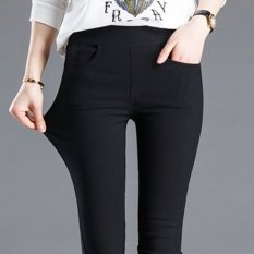 Who Sells Spring Women Thin Trousers Black Feet Pant Pencil Pants Intl