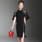 Sale Women S Slim Fit Lace Stitching Dress Oem On China