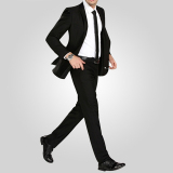 Price Straight Men Suit Pants Work Office Formal Black Pants Casual Mens Business Trousers On China