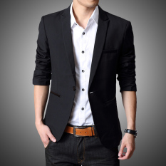 Men Leisure Suit Students Teenager Handsome Tops Small Suit Male Korean Style Slim Fit Coat Fashion Wedding Formal Wear By Taobao Collection.