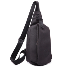 Stylish Chest Pack Men S Shoulder Messenger Bag Sports Female Pockets New Style Korean Style Casual Man Bag Small Bag Male Backpack Ink Black Wolf Horse Discount