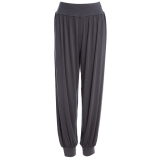 Latest Stylish Elastic Waist Causal Baggy Yoga Pants Trousers Bloomers For Ladies Size Xl Grey Intl