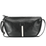 Best Rated Tide Male Personality Cortex New Cycling Crossbody Bag Shoulder Tote Black Black