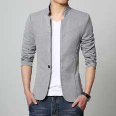 Spring Coat Small Suit Mens Top Korean Style Handsome Fashion Leisure Suit Jacket Coat Youth Slim Fit Sun Yat-Sen Costume By Taobao Collection.