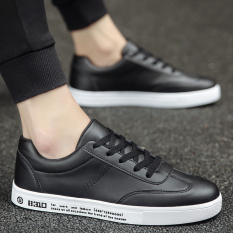 For Sale Stylish Leather Summer New Casual Shoes Black