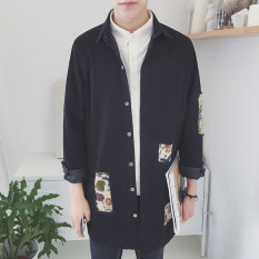 Where Can I Buy The Trend Of Spring And Autumn New Original Trench Coat Black Black