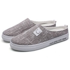 Who Sells New Style Smiley Stylish Linen Lr Shoes Gray