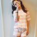 Review Woman Pure Cotton Cartoon Short Sleeved Pajamas Pale Pinkish Gray Pale Pinkish Gray Oem On China