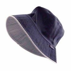 Buy Summer Causual Unisex Bucket Bush Hat Boonie Cap Fisherman Fishing Camping Travel Deep Blue Online