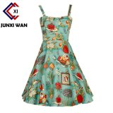 Who Sells The Cheapest Summer Dress 2017 Audrey Hepburn Women Retro Vintage 1950S 60S Rockabilly Floral Swing Summer Dresses Elegant Tunic Vestidos Wq0980 900 Green Intl Online