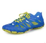 Lowest Price Men S Breathable Eva Cut Out Beach Shoes Navy Blue Navy Blue