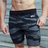 Retail Brother Casual Men S Muscle Fitness Shorts Pants Sports Shorts Gray Camouflage