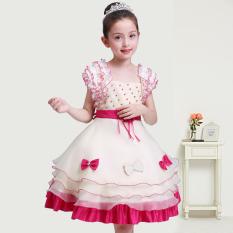 G*rl S Princess Dress Rose Color Rose Color Lower Price