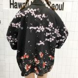 Women S Korean Style Vintage Loose Sun Protective Coat Picture Color Picture Color Lower Price