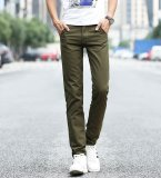 Cheapest Summer Men Casual Straight Pant Cotton Thin Trousers Intl Online