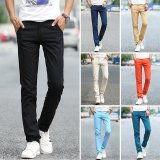 Sale Summer Men Casual Straight Pant Cotton Thin Trousers Intl Oem Wholesaler