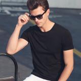 Buy Summer Men S Cotton Short Sleeved T Shirt 2020 Black Oem