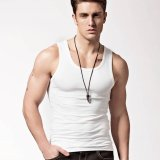 Buy Summer Men S Fitness Tank Tops Sports Gym Athletic White Sleeveless Undershirts Intl China