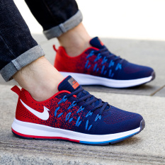 Buy Men S Casual Sports Shoes Dark Blue Dark Blue Online