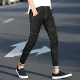 Summer Men S Jean Slim Night Feet Pant Elastic Male Casual Harem Pants Intl In Stock