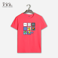 Where Can You Buy Japanese Cotton Barometer Round Neck Short Sleeve T Shirt Red 228 Red 228