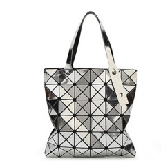 Retail Laser Bag Diamond Bag Folding Bag Silver 6 6