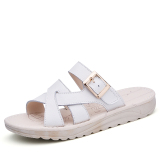 Best Deal Leather Outer Wear Flat With Pregnant Women Beach Sandals