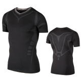 Latest Summer Quick Drying Breathable Fitness Room Sports Slim Fit Vest Pro Armor Pattern Basketball Training Fitness Sleeveless Men Elite Black Short Sleeved
