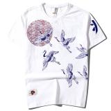 Best Rated Jinlintang Men S Retro T Shirt White White