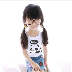 Summer Short Sleeve Panda Print G*rl T Shirt Kid Shirt Top Intl Online
