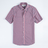 Buy Loose Casual Cotton Men Light Queen Shirt Big Plaid Shirts T58 T58 On China