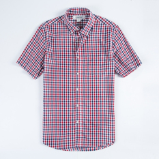 Discount Loose Casual Cotton Men Light Queen Shirt Big Plaid Shirts T58 T58 China