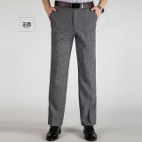 Compare Summer Thin New Men S Elastic Business Trousers Work Office Formal Black Pants Mens Business Trousers Light Grey Intl Prices