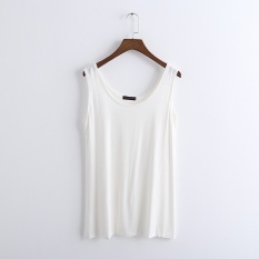 Best Summer Women Pure Cotton Tanks Camisoles Thin Loose Slip Sleeveless Tops For Ladies Intl