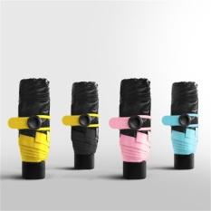 How To Get Sunking Dual Use Super Mini Pocket Anti Uv Umbrella Black Intl