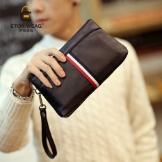 Lowest Price Sunking Korean Fashion Business Leisure Clutch Men S Handbag Messenger Bag Coffee Intl