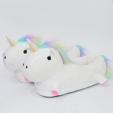 Price Sunshop Fashion Women Men Unicorn Lush Cotton Slippers Cute Three Dimensional Home Couple Indoor Shoes One Size White Intl Sunshop China