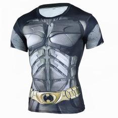 Superhero Batman 3D Muscle Shirt Men Slim Fit T Shirts Bodybuilding Muscle Top Spandex Compression Shirt Streetwear Intl Lowest Price