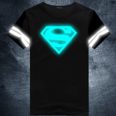 Who Sells Superman Cotton New Style Reflective Plus Sized T Shirt Blueray 01 Cheap