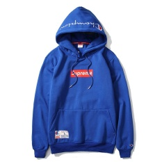 Lowest Price Supreme Champion Hoodies Sweatshirts Men Women Autumn Winter Joint Letter Printing Embroidery Cotton Hooded Sweater Coat Clothing Intl
