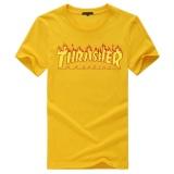 Best Reviews Of T Shirt Men Women Skateboards Tee Short Sleeve Skate T Shirts Tops Hip Hop T Shirt Homme Man Trasher Intl