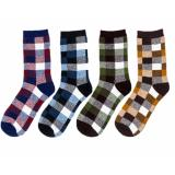 T92 Bundle Checkered Gentlemen Men Socks *d*lt Price