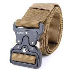 Tactical Belt Military Style Webbing Riggers Web Belt With Heavy Duty Quick Release Metal Buckle In Delicate Intl Compare Prices