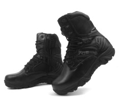 Compare Price Tactical Boot Delta Pdrm Operasi Penguatkuasa Hiking Shoes Outdoor Sports Tactical Camping Black Intl On China