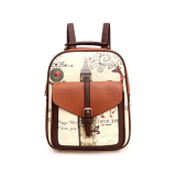 For Sale Teenagers Sch**l Casual Backpack Fashion Children Backpack For G*rl Brown