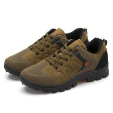 Teomall Originality Men Outdoor Recreation Climbing Shoes Travelling Shoes Waterproof Hiking Shoes Light Antiskid Shoes Sneakers Running Shoes Style Q32 Intl Promo Code