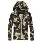 Tf Men S New Fashion Casual Lightweight Jackets Trend Camo Jacket Army Green Intl Free Shipping