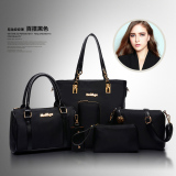 Sale Spring Summer New Crossbody Women Tote With Pouch Changing Bag Nylon Black Nylon Black Oem Cheap