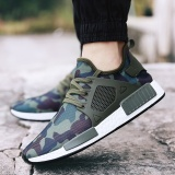 The New Breathable Leisure Men S Shoes South Korean Style Fashion Sports Running Shoes Green Intl Oem Discount